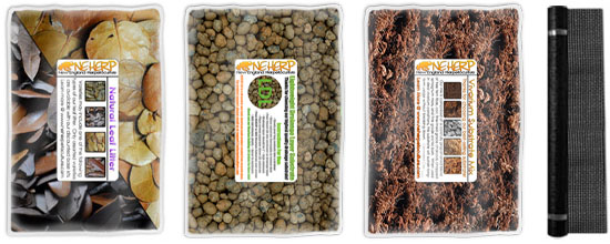 NEHERP Vivarium Substrate Base Kits