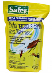Diatomaceous Earth - OMRI listed chemical-free crawling insect killer