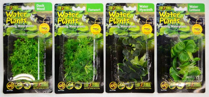 exo terra floating water plants realistic floating water plants