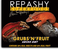 Repashy Grubs and Fruit Diet