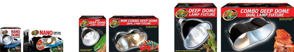 Zoo Med Nano & Deep Dome Fixtures