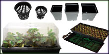 Plant Pots, Plant Trays, and Propagation Supplies