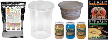 Feeder & Microfauna Supplies