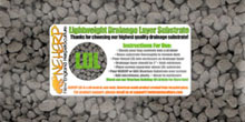Drainage Layer Substrate For Bioactive Terrarium Environments
