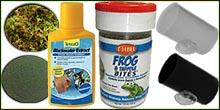 Tadpole Care Supplies