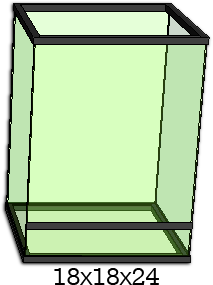 Build 18x18x24 Vivarium